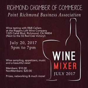 PRBA and Richmond Chamber Joint Business Networking Mixer @ R&B Cellars | Richmond | California | United States