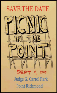 Picnic in the Point 2017 @ Judge Carroll Park   Richmond   California   United States