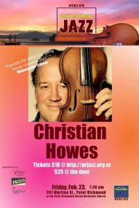 Point Richmond Jazz presents Christian Howes