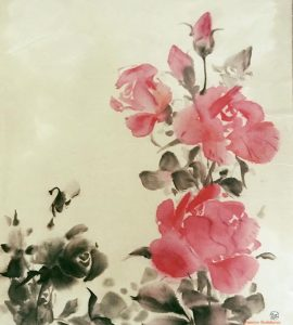 Sumi-e/ Japanese Brush Painting Spring Class at RAC Starts @ Richmond Art Center