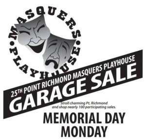 25th Point Richmond Masquers Playhouse Garage Sale @ Point Richmond Residents & Businesses - Over 100 Sales | Richmond | California | United States