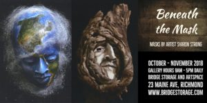 Beneath the Mask (Reception, Lecture & Demo) for Artist Sharon Strong @ Bridge Storage and ArtSpace | Richmond | CA | US