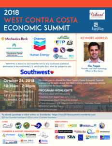2018 West Contra Costa Economic Summit @ Craneway Pavilion | Richmond | California | United States