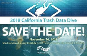 2018 California Trash Data Dive @ San Francisco Estuary Institute | Richmond | CA | US