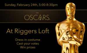 The Oscars at Riggers Loft @ Riggers Loft Wine Company | Richmond | CA