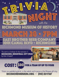 Richmond History Trivia Night @ East Brother Beer | Richmond | California | United States