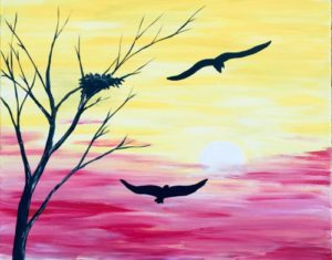 Paint Nite @ Riggers Loft Wine Company | Richmond | CA