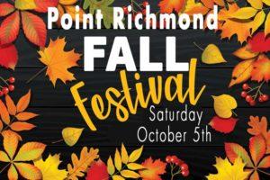 Point Richmond Fall Fest 2019 @ Park Place Point Richmond | Richmond | California | United States