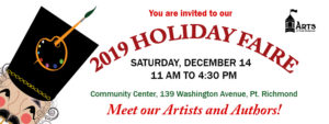 Arts of Point Richmond Holiday Faire Dec 14 @ Point Richmond Community Center |  |  |