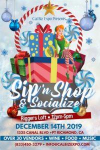 Sip 'n Shop & Socialize @ Riggers Loft Wine Company | Richmond | California | United States