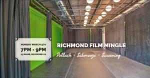 Richmond Film Mingle / Screening @ Bridge Storage and ArtSpace | Richmond | CA | US