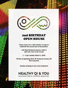 Healthy Qi & You Turns 2! @ Healthy Qi & You |  |  |