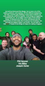 Quarterly Richmond Film Mingle (June) @ Bridge Storage and ArtSpace   Richmond   CA   US